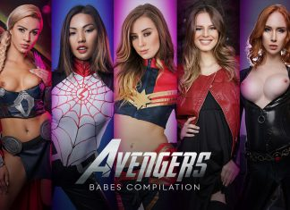 Avengers Babes Compilation A XXX Parody