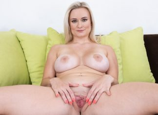Small Blonde, Big Tits